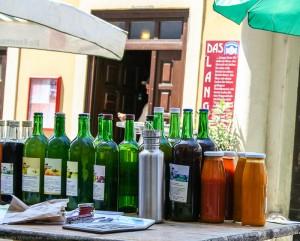 Das LANGE und der Bio Markt in der Lange Gasse Wien 8. Foto: Mag. (FH) Beate Mitterhuber - www.mitterhuber.at