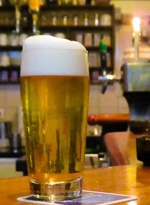 LANGE Pub Wien, Bier Dienstag - ein Spezialbier vom Fass