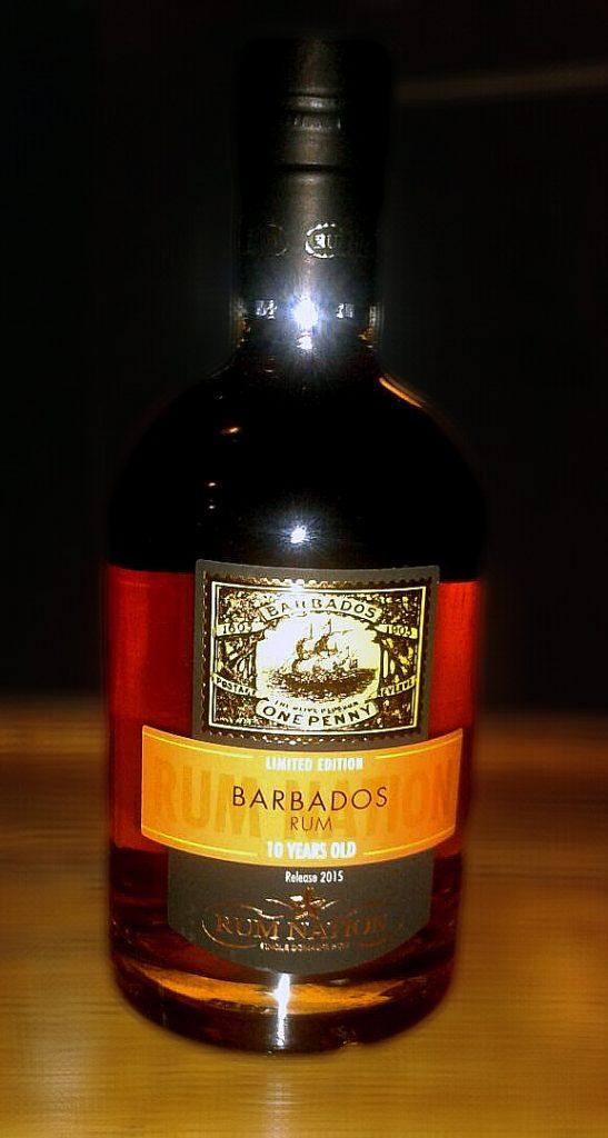 Rum des Monats: Rum Nation Barbados 10y Release 2015