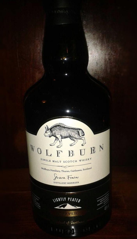 Wolfburn Morven Single Malt Scotish Whisky im Lange Pub Wien
