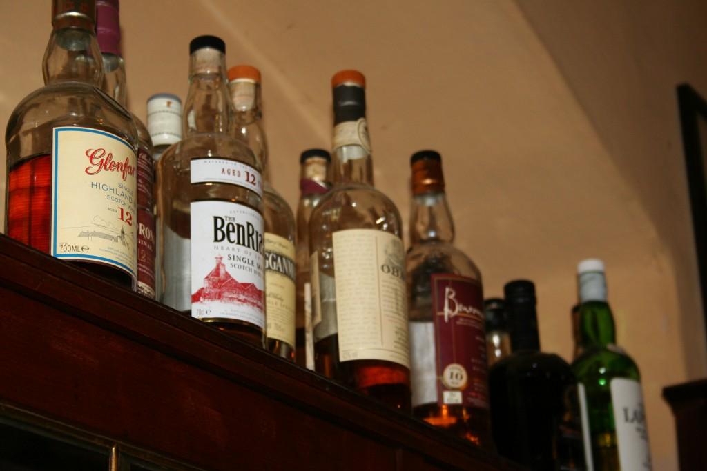 Whisky im LANGE Pub und Beisl Wien