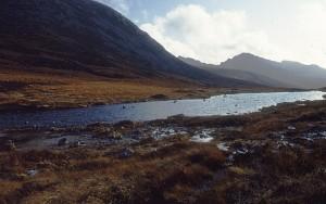 Tom Richardson: Loch na Davie, Arran Looking south towards the high hills of Arran