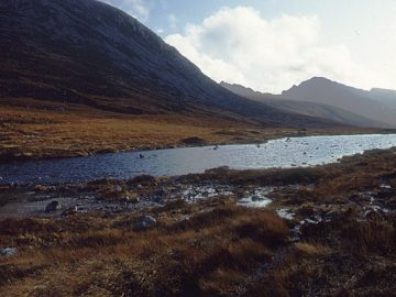 Tom Richardson: Loch na Davie, Arran Looking south towards the high hills of Arran