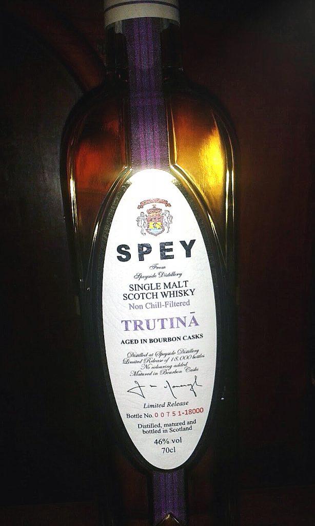 LANGE Pub und Beisl Whisky des Monats: Spey Trutina