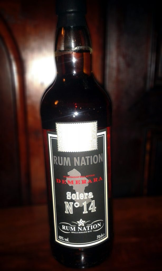 LANGE Rum des Monats: Rum Nation Demerara Solera No. 14