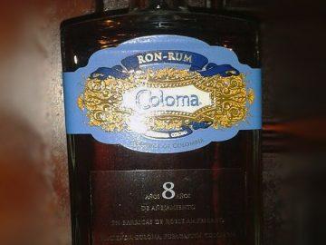 HACIENDA COLOMA 8v - Rum aus Kolumbien im LANGE Pub Wien