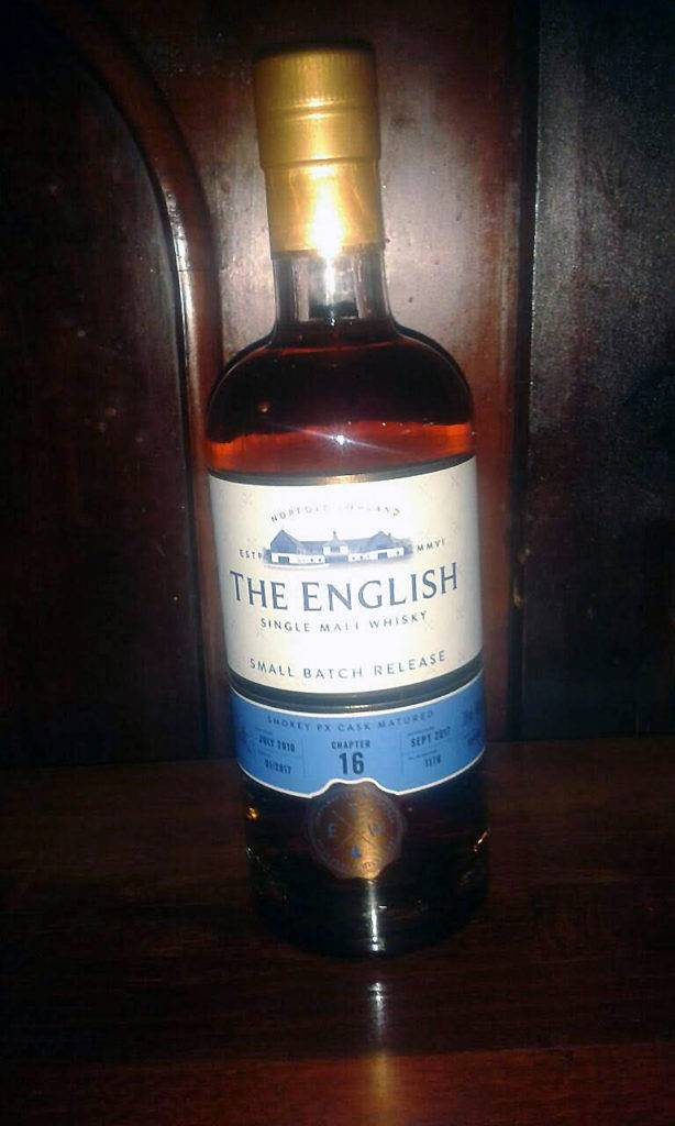 LANGE Whisky des Monats: THE ENGLISH Chapter No. 16 Single Malt Whisky, Small Batch Release