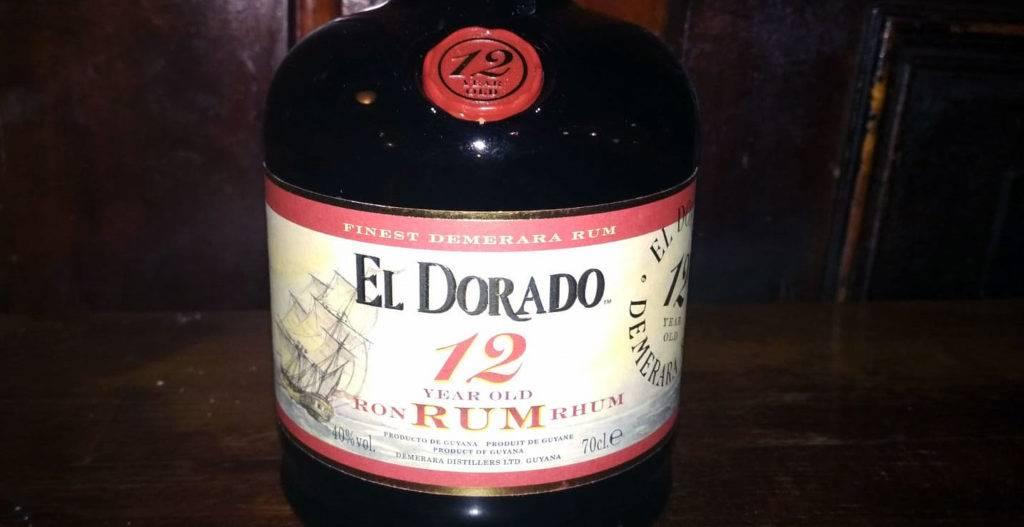 El Dorado 12y Demerara Rum aus Guyana im LANGE Pub Wien