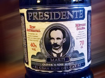 Presidente Martí 19y von Oliver & Oliver, Dominikanische Republik. LANGE Pub Wien Rum Angebot