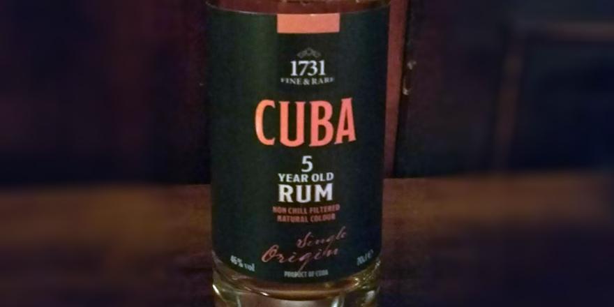 LANGE Pub und Beisl Rum Angebot: 1731 Cuba 5y