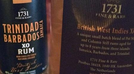 LANGE Pub Rum spezial: 1731 Fine & Rare - British West Indies - Trinidad - Barbados - Jamaica