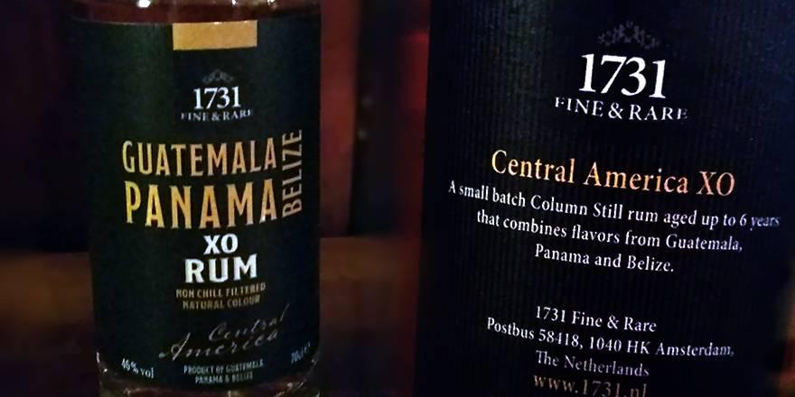 LANGE Pub Wien Rum Angebot: 1731 - Central America XO Rum