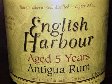 English Harbour 5 Year Old Antigua Rum Angebot im LANGE Wien Josefstadt