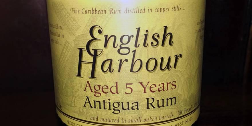 English Harbour 5 Year Old Antigua Rum Angebot im LANGE Wien Josefstadt