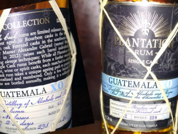 PLANTATION Guatemala XO Single Cask Collection 2018 - Rum spezial - Das LANGE Pub und Beisl Wien