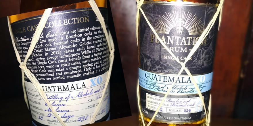PLANTATION Guatemala XO Single Cask Collection 2018 - Rum spezial - Das LANGE Pub und Beisl Wien