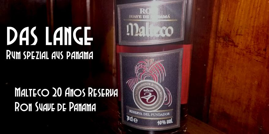 Malteco Reserva del Fundador 20 Anos - Das LANGE Pub und Beisl - Wien Josefstadt