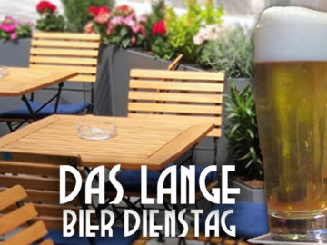 Das LANGE Pub und Beisl - Bier Dienstag mit Schanigarten