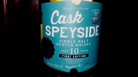 Cask Speyside A.D. Rattray 10 Years , Whisky des Monats im LANGE Pub und Beisl Wien
