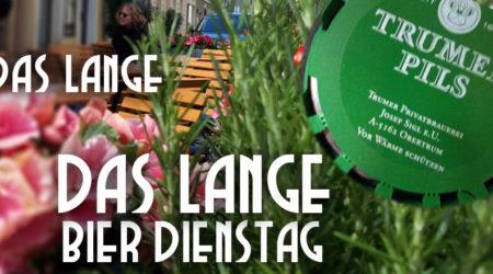 LANGE Bier Dienstag, 11.6.: TRUMER PILS vom Fass