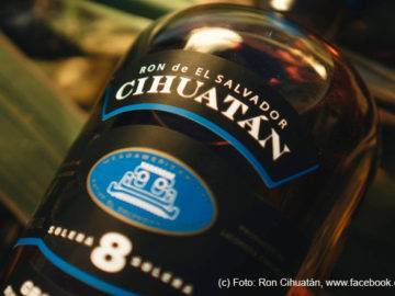 LANGE Pub Rum spezial: Ron Cihuatán 8y aus El Salvador. Foto: Ron Cihuatán, www.facebook.com/roncihuatan