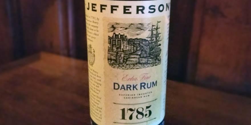 Jefferson's Extra Fine Dark Rum - das Rum Angebot im LANGE Pub Wien