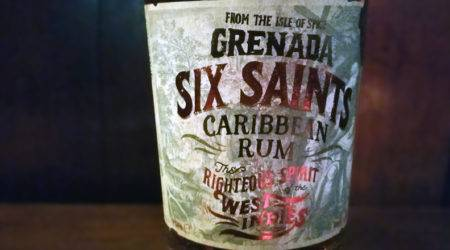 Six Saints Caribbean Rum Grenada: Clarke's Court Destillery. LANGE Rum spezial