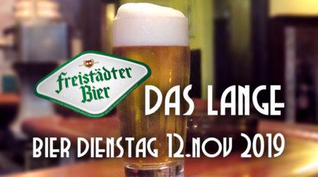 Das LANGE Bier Dienstag mit Freistädter Ratsherrn Premium
