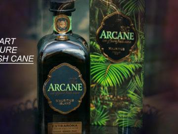 Arcane Extraroma 12 YO, Rum spezial Angebot im LANGE Pub Wien