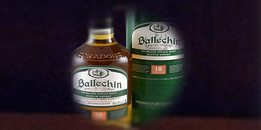 LANGE Pub Whisky des Monats: Ballechin 10 Year Heavely Peated Highland Single Malt Scotch Whisky