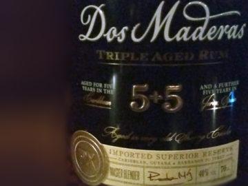 Dos Maderas 5+5 triple aged Rum im LANGE Wien Josefstadt