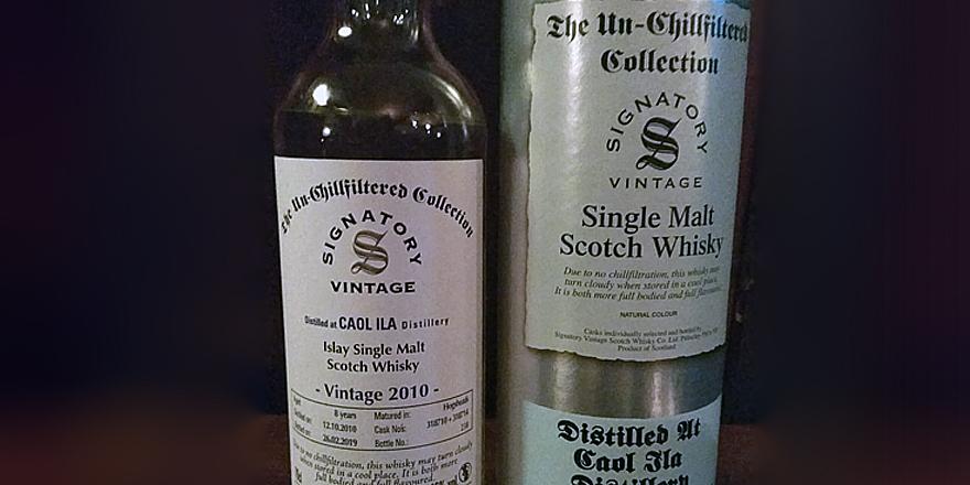 LANGE Whisky des Monats: SIGNATORY VINTAGE Un-Chillfiltered Caol Ila 2010